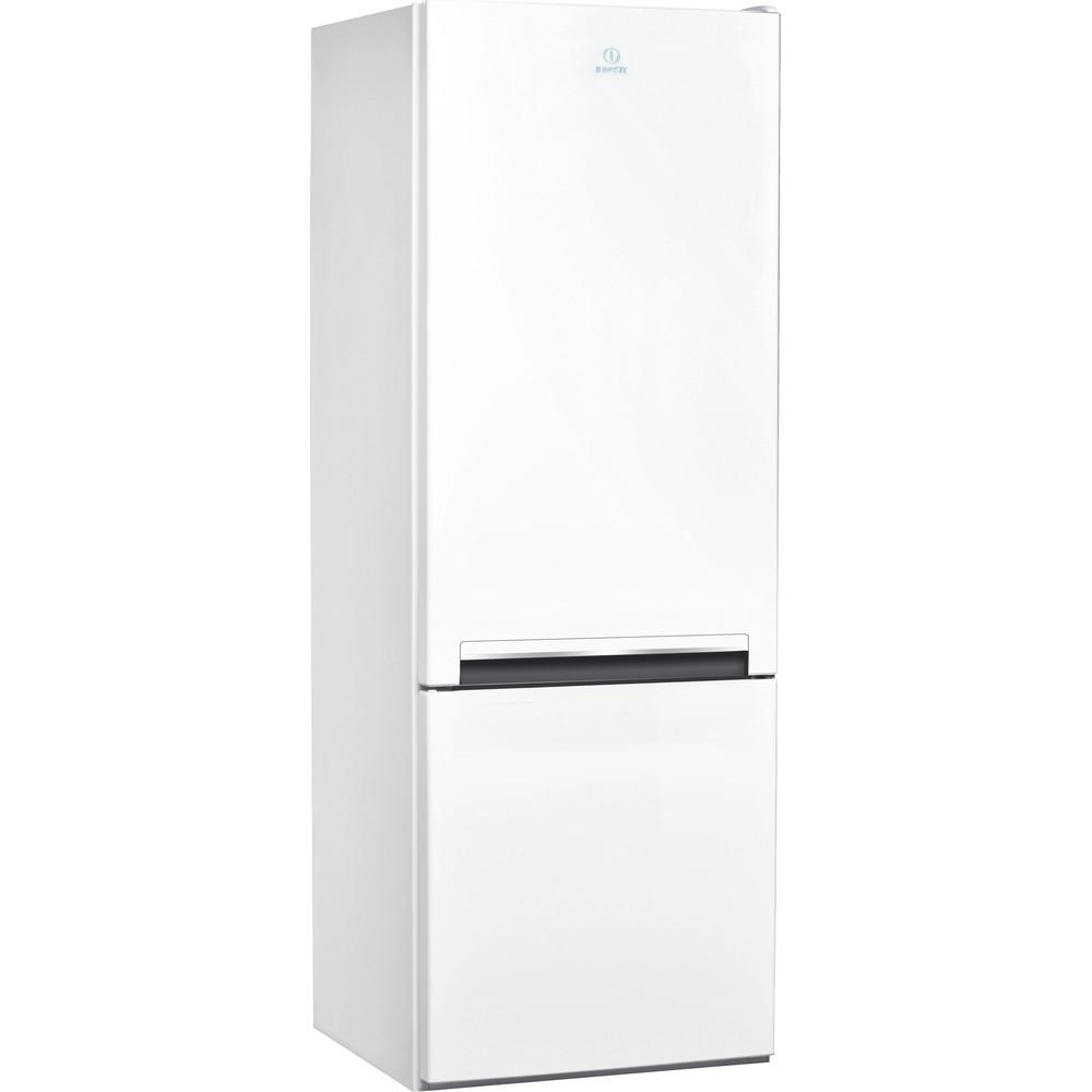 Indesit Kombinovaná chladnička s mrazničkou Voľne stojace LI6 S1 W Biela 2 doors Perspective