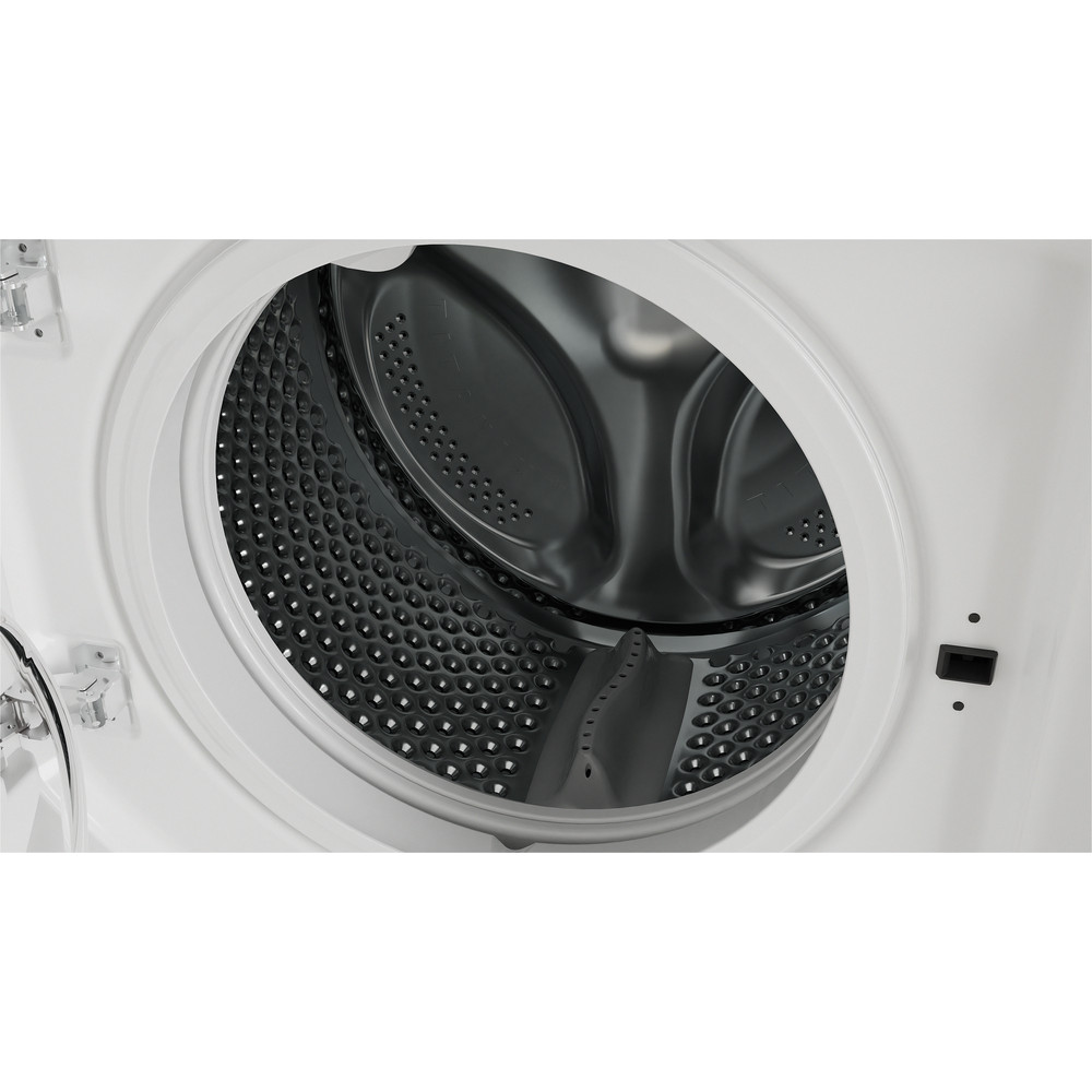 Indesit Washing machine Built-in BI WMIL 91484 UK White Front loader C Drum