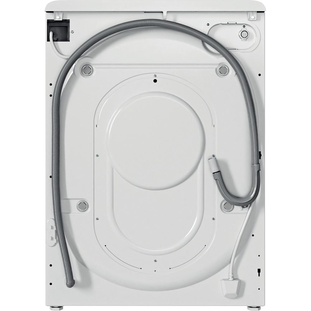 Indesit Kombineret vaskemaskine/tørretumbler Fritstående BDE 1071482X WK EU N Hvid Frontbetjent Back / Lateral