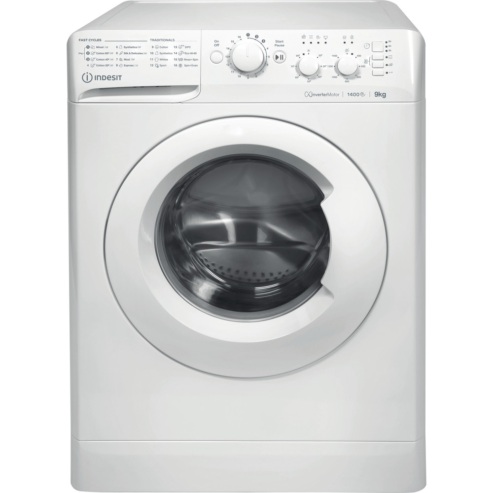 Indesit Washing machine Free-standing MTWC 91483 W UK White Front loader A++ Frontal