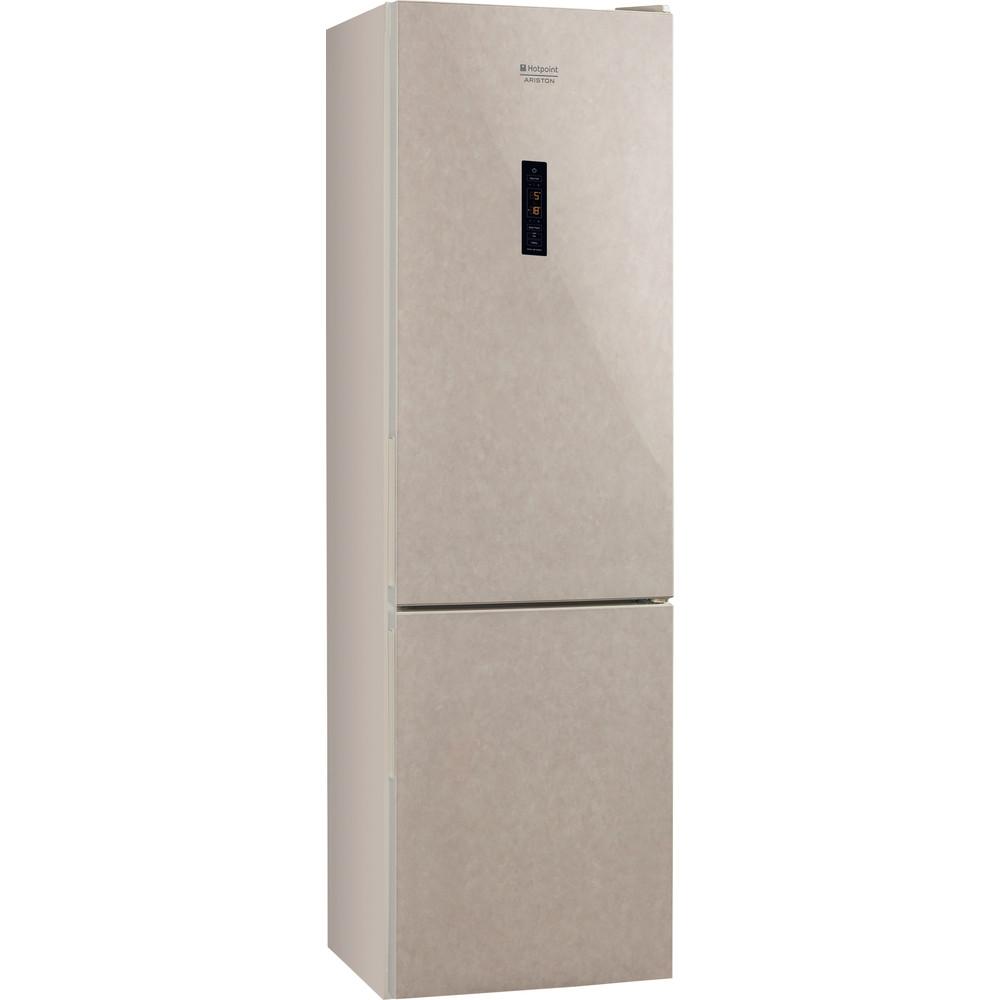 Hotpoint_Ariston Комбинированные холодильники Отдельностоящий RFI 20 M Мраморный 2 doors Perspective