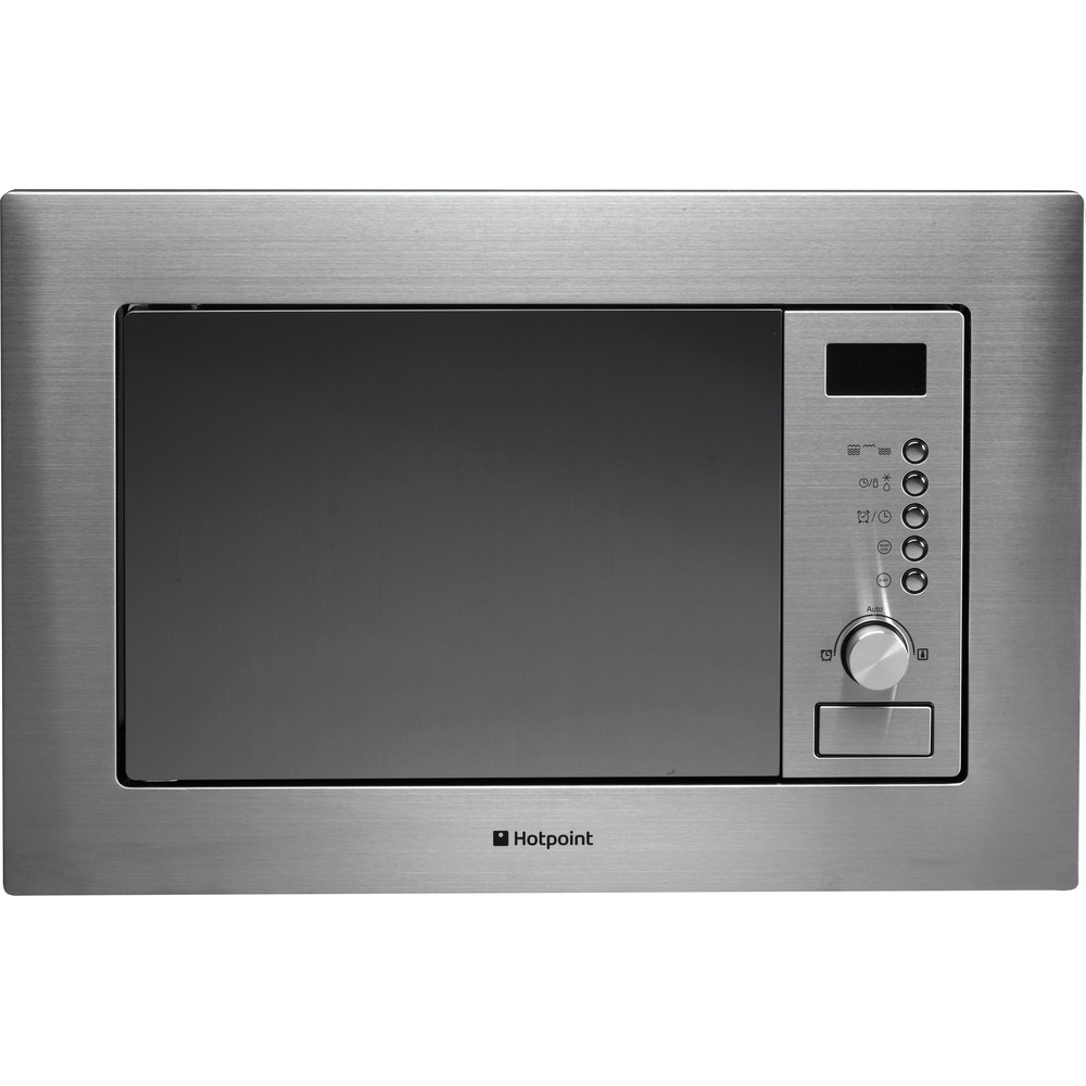 Hotpoint Microwave Built-in MWH 122.1 X Stainless Steel Electronic 20 MW+Grill function 800 Frontal