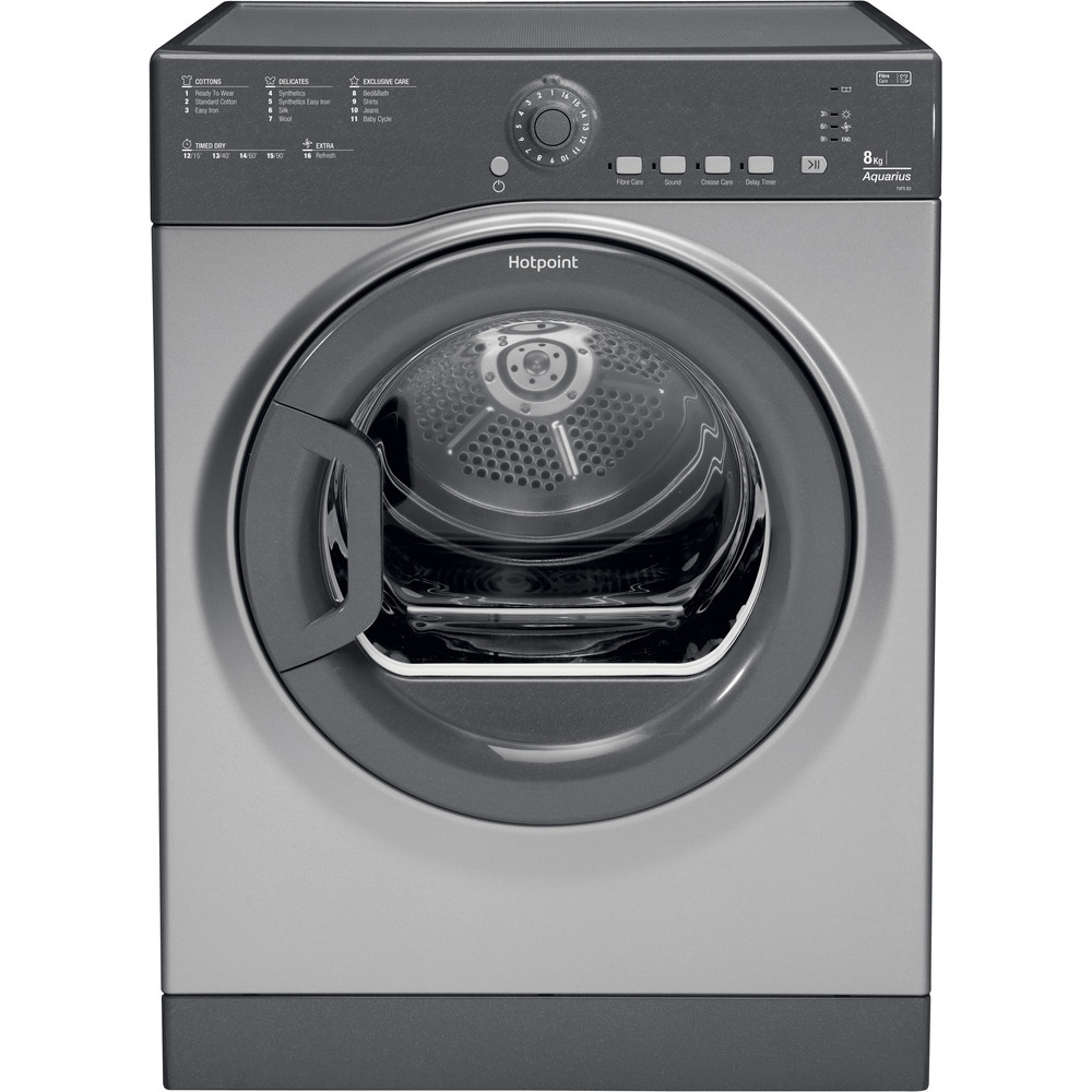 Hotpoint Dryer TVFS 83C GG.9 UK Graphite Frontal