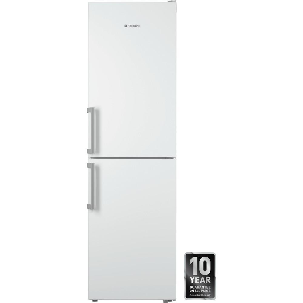 Hotpoint Fridge Freezer Free-standing XECO95 T2I WH.1 White 2 doors Frontal