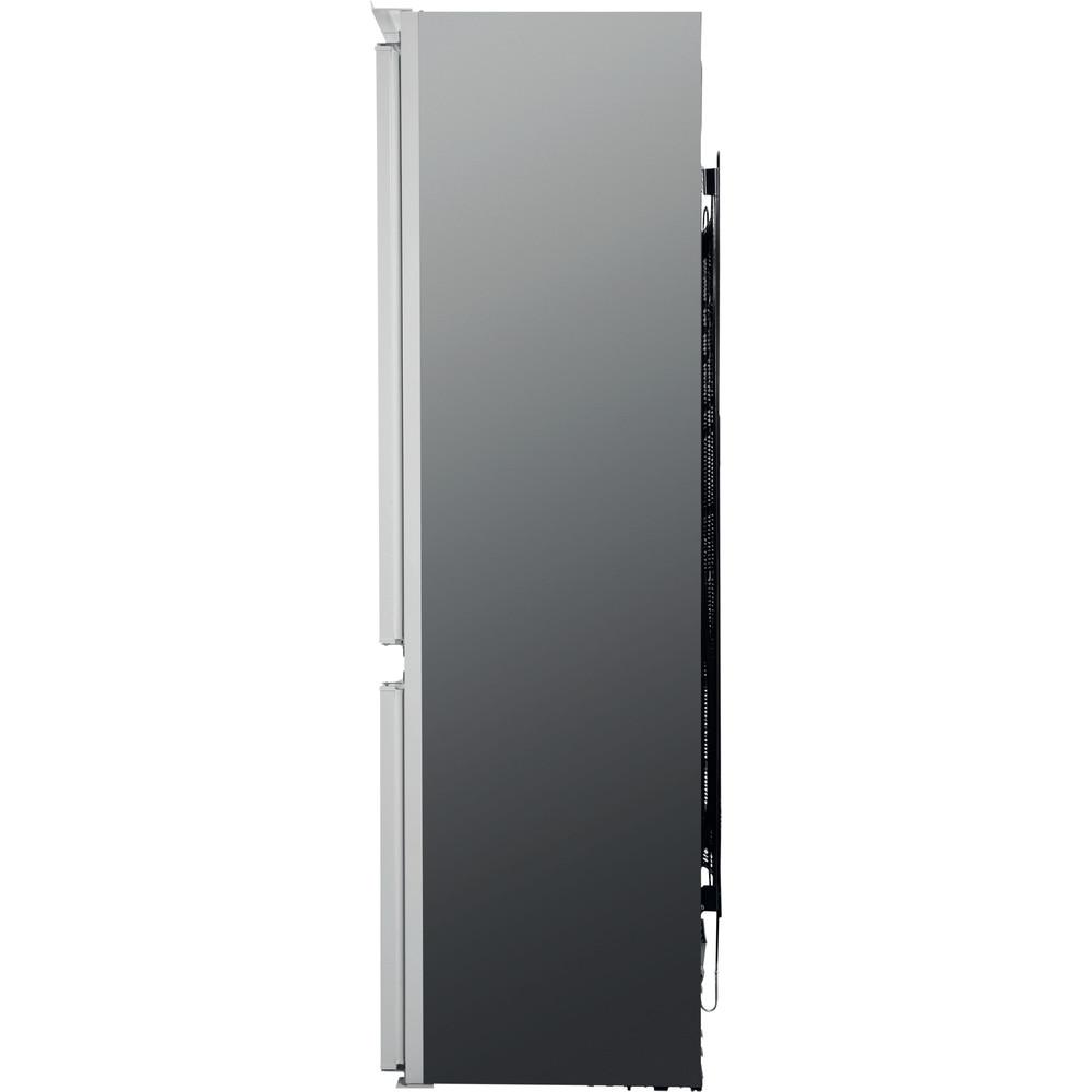 Indesit Kombinovaná chladnička s mrazničkou Vstavané B 18 A1 D/I Oceľová 2 doors Back / Lateral