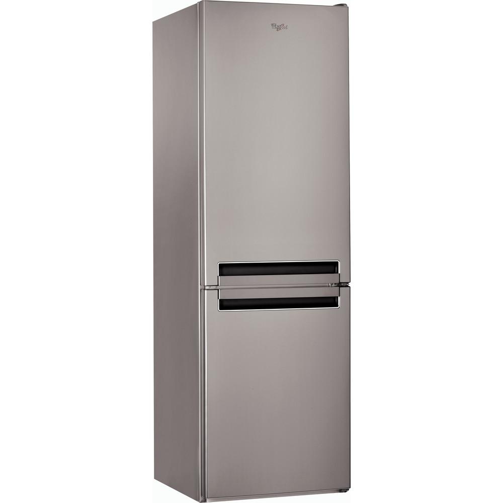 Холодильник Whirlpool з нижньою морозильною камерою соло: з системою frost free - BSNF 8121 OX