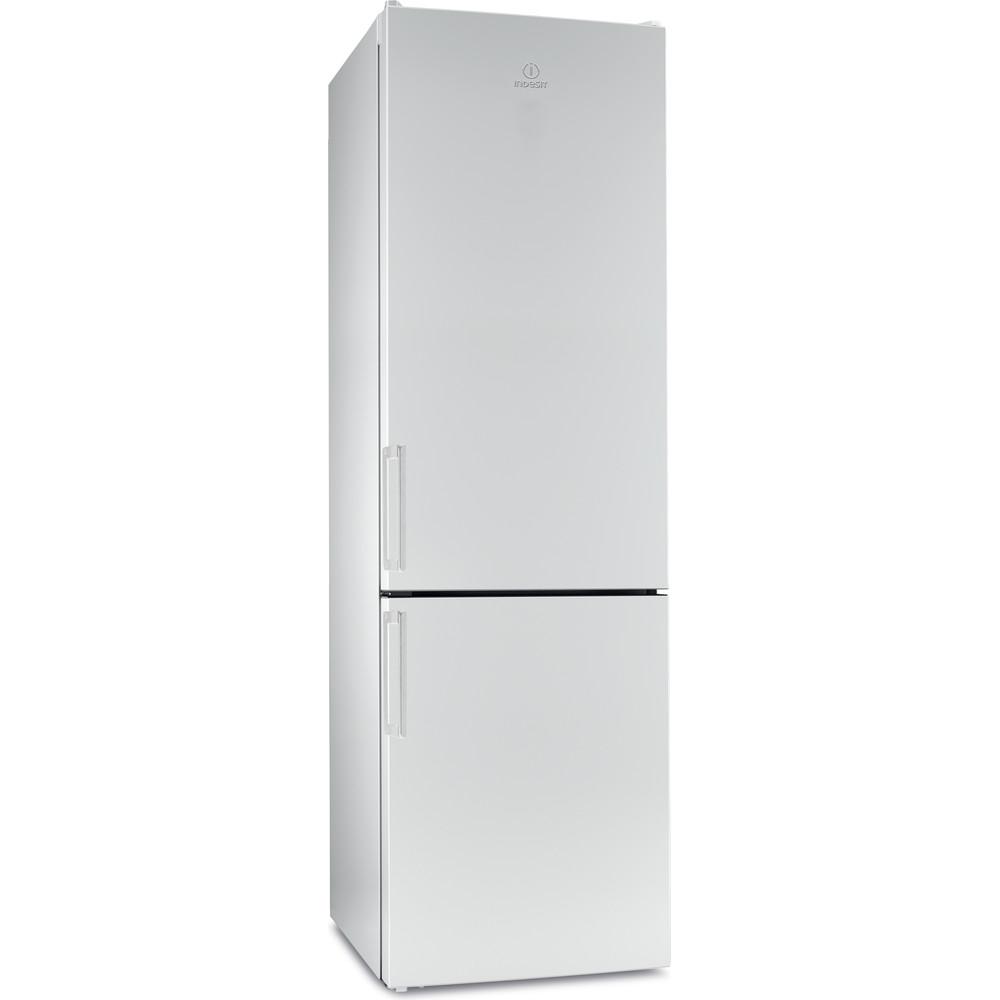 Indesit Холодильник с морозильной камерой Отдельностоящий EF 20 Белый 2 doors Perspective