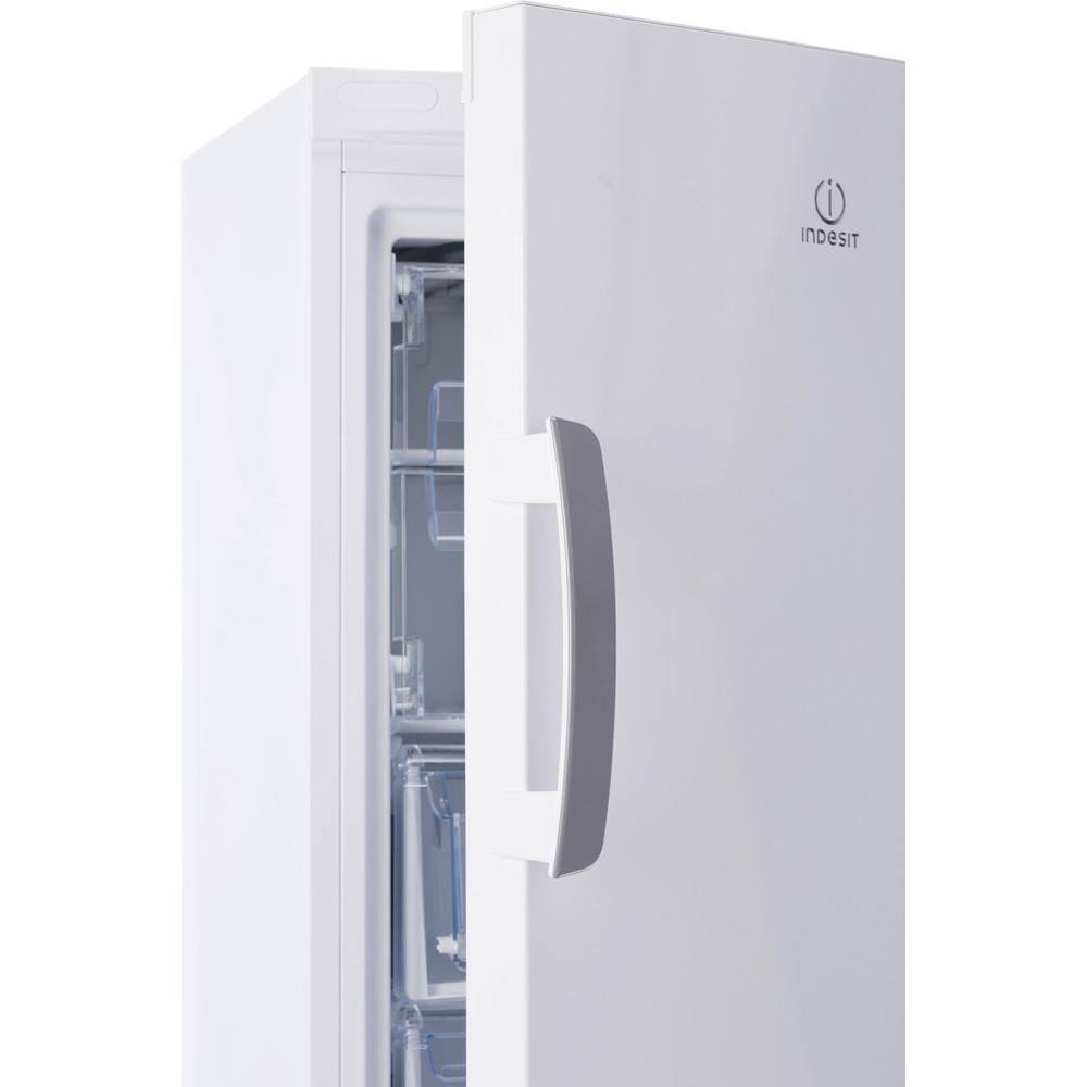 Indesit Морозильная камера Отдельностоящий IDU 0150 Белый Perspective open
