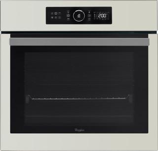 Whirlpool beépíthető elektromos sütő: szatén ezüst szín - AKZ 6230 S