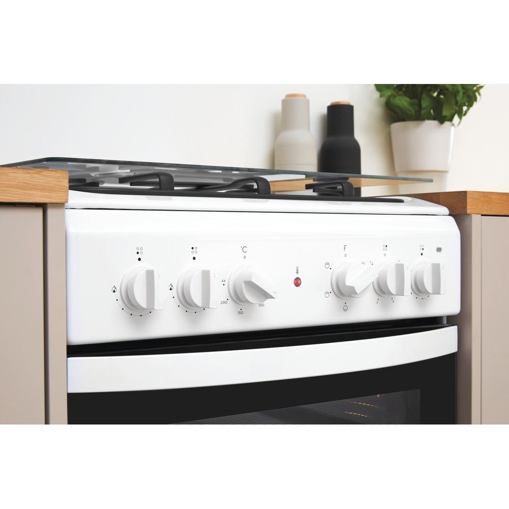 Indesit Плита IS5M4KCW/E Белый Комбинированная Lifestyle control panel