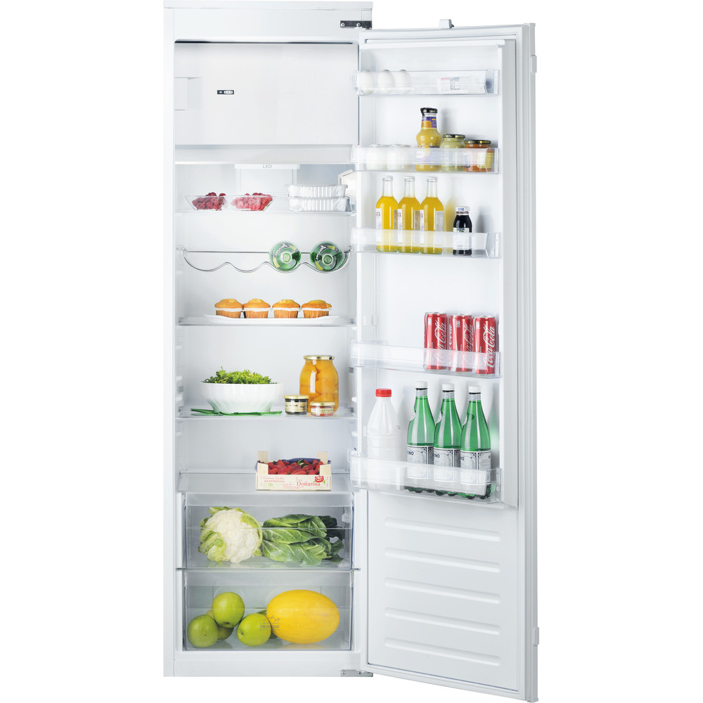 Hotpoint Refrigerator Built-in HSZ 1801 AA.UK White Frontal_Open