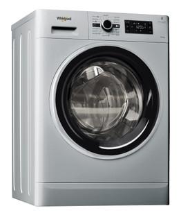 Whirlpool freestanding washer dryer: 9kg - FWDG96148SBS GCC