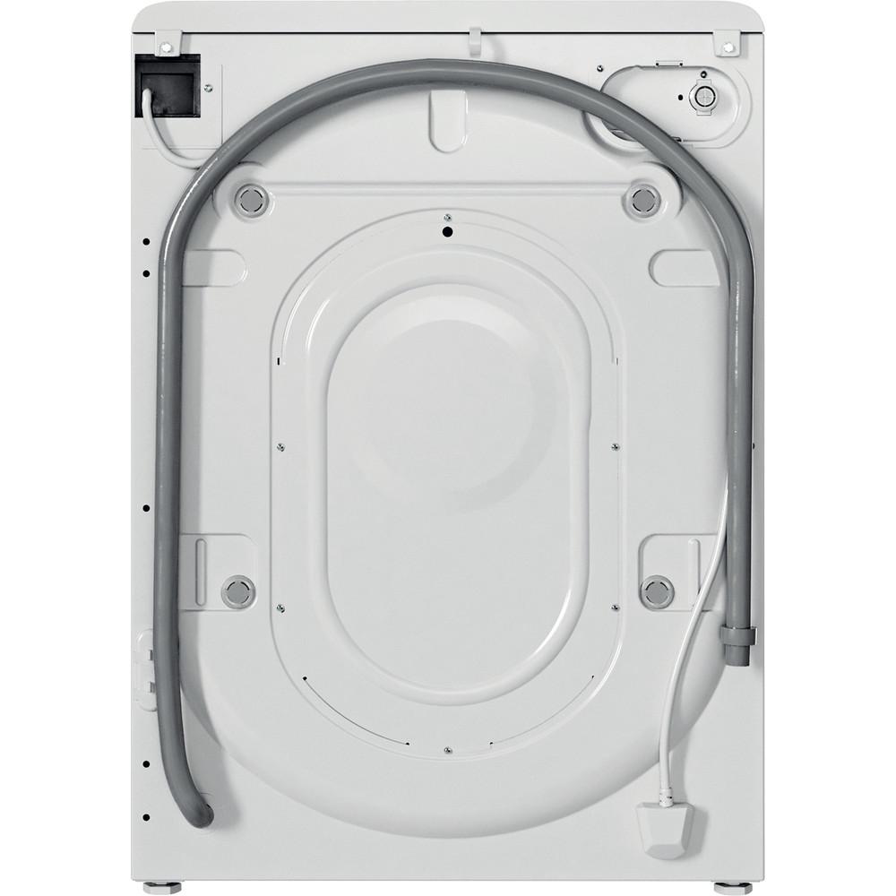 Indesit Lavabiancheria A libera installazione BWSE 71283X W IT N Bianco Carica frontale D Back / Lateral
