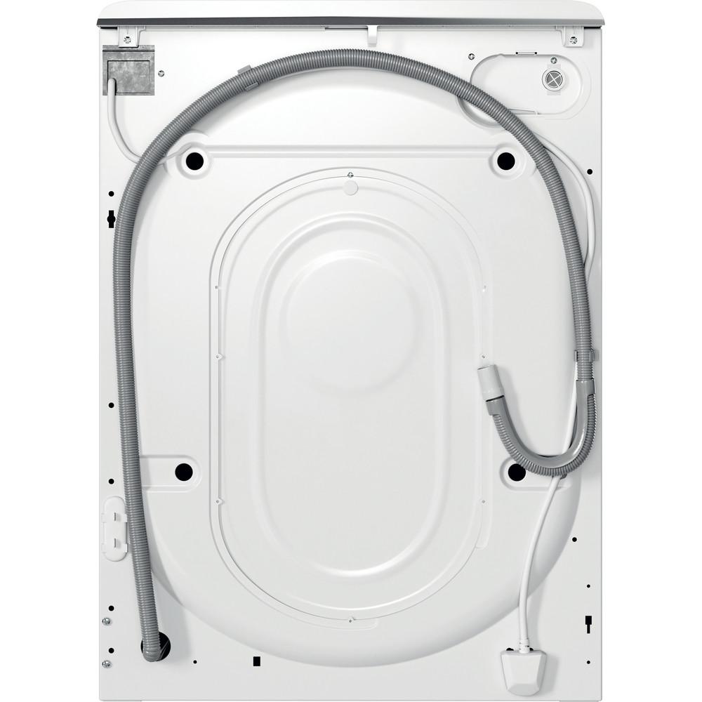 Indesit Lave-linge Pose-libre MTWA 91483 W FR Blanc Lave-linge frontal D Back / Lateral