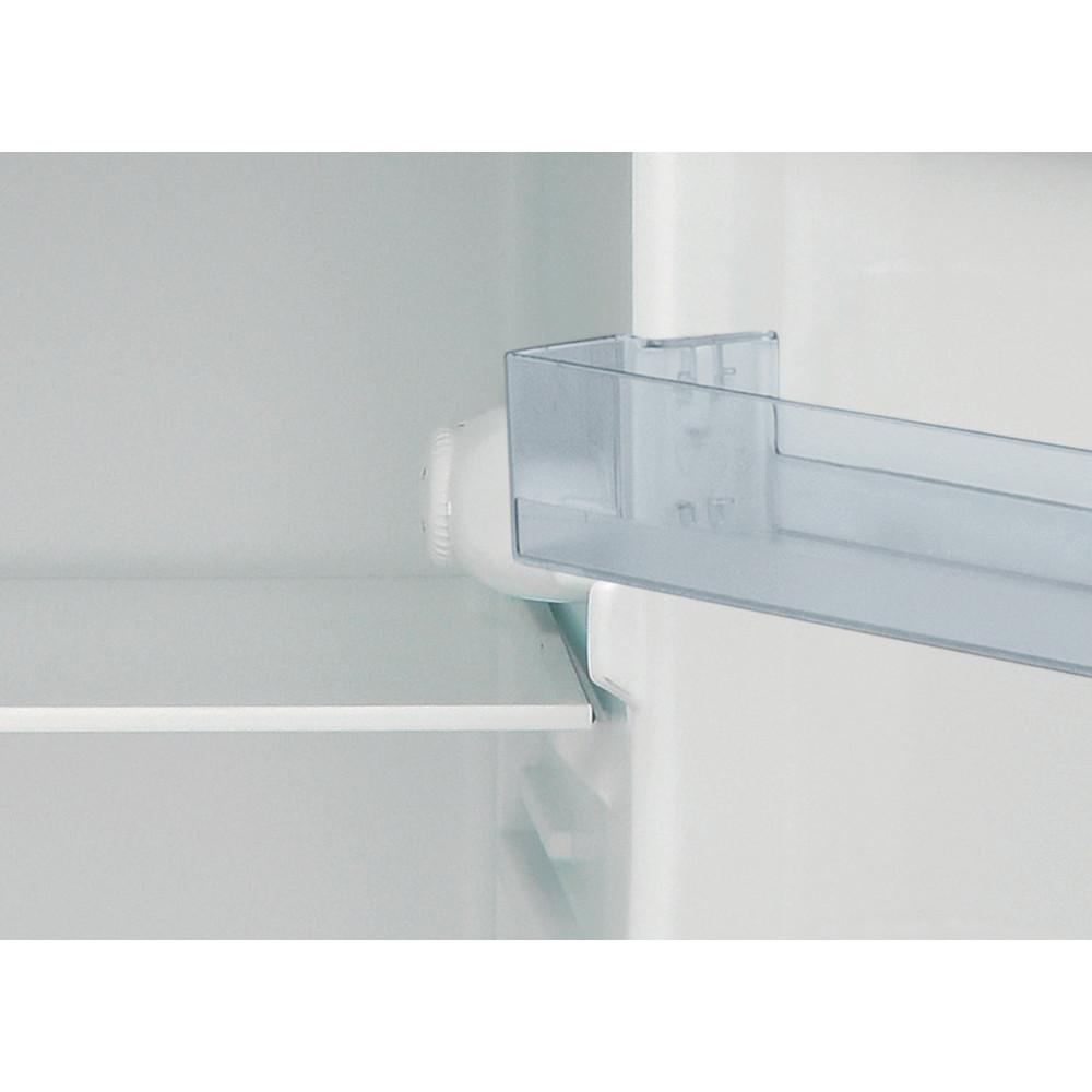 Indesit Combiné réfrigérateur congélateur Pose-libre I55TM 4110 S 1 Argent 2 portes Control panel