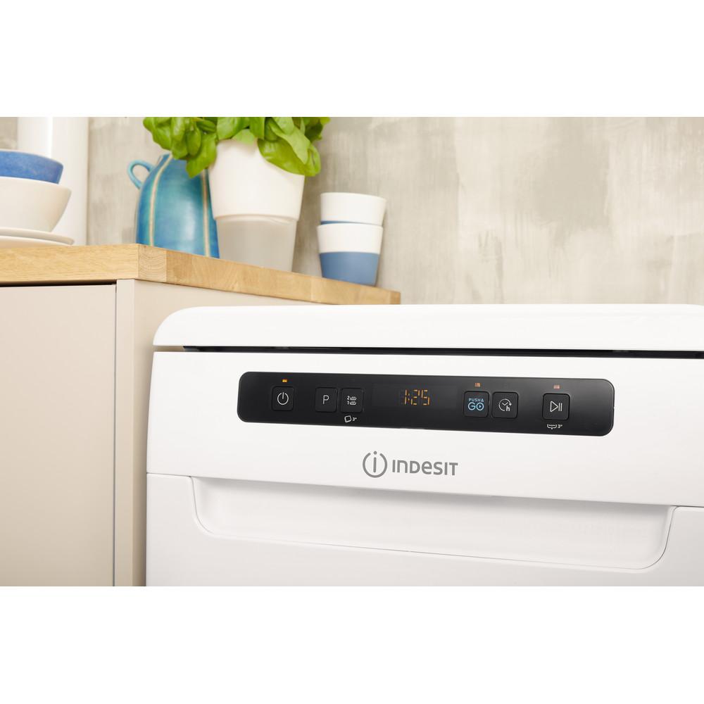 Indesit Посудомоечная машина Отдельностоящий DSFC 3T117 Отдельностоящий A Lifestyle control panel