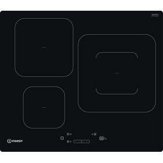 Indesit Table de cuisson IS 33Q60 NE Noir Induction vitroceramic Frontal