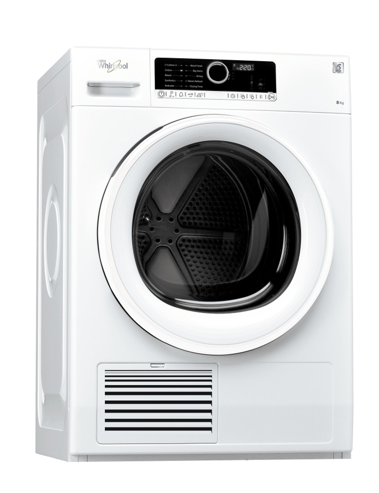 Whirlpool Dryer DSCX 80112 White Perspective