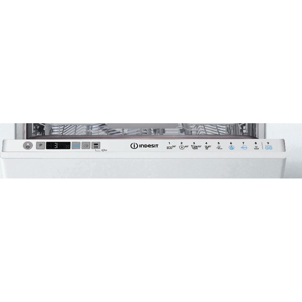 Indesit Oppvaskmaskin Integrert DSIC 3T117 Z Full-integrated A+ Control panel