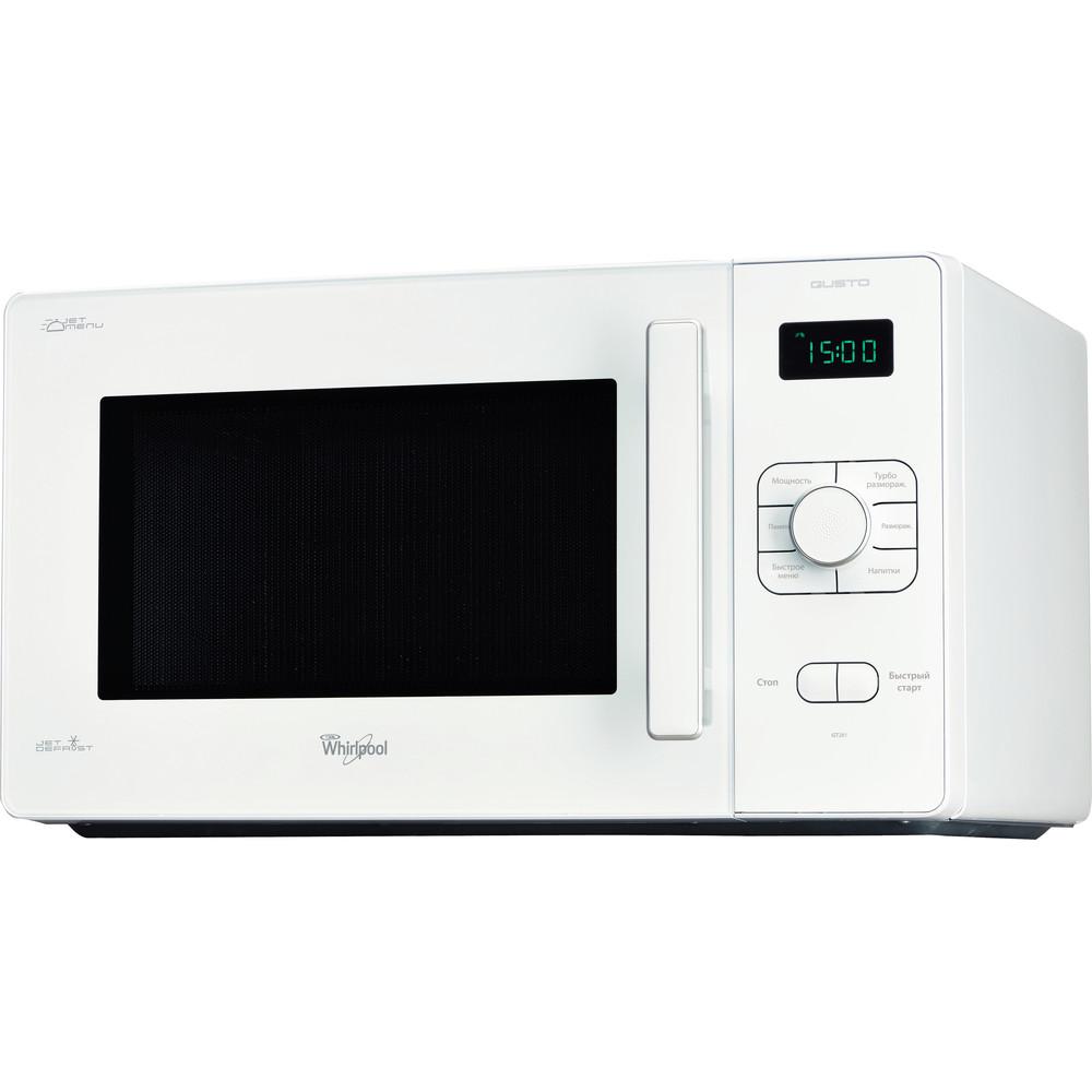 Whirlpool fristående mikrovågsugn: färg vit - GT 281 WH