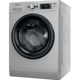 Whirlpool Máquina de lavar roupa Independente com possibilidade de integrar FFB 8258 SBV SP Prata Carga Frontal B Perspective