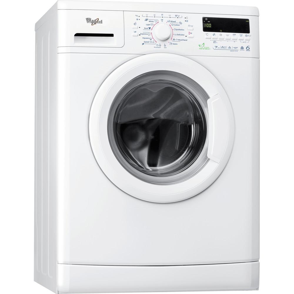 Whirlpool frontmatad tvättmaskin: 7 kg - AWO/D 7214