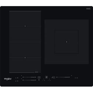Placa de inducción Whirlpool - WF S9560 NE - 3 Zonas - Mando Control Slider Independiente