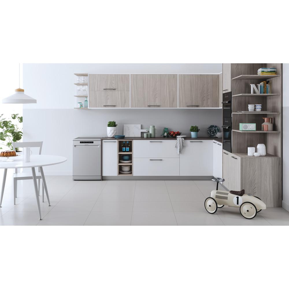 Indesit Посудомоечная машина Отдельностоящий DFC 2B+16 S Отдельностоящий A Lifestyle frontal