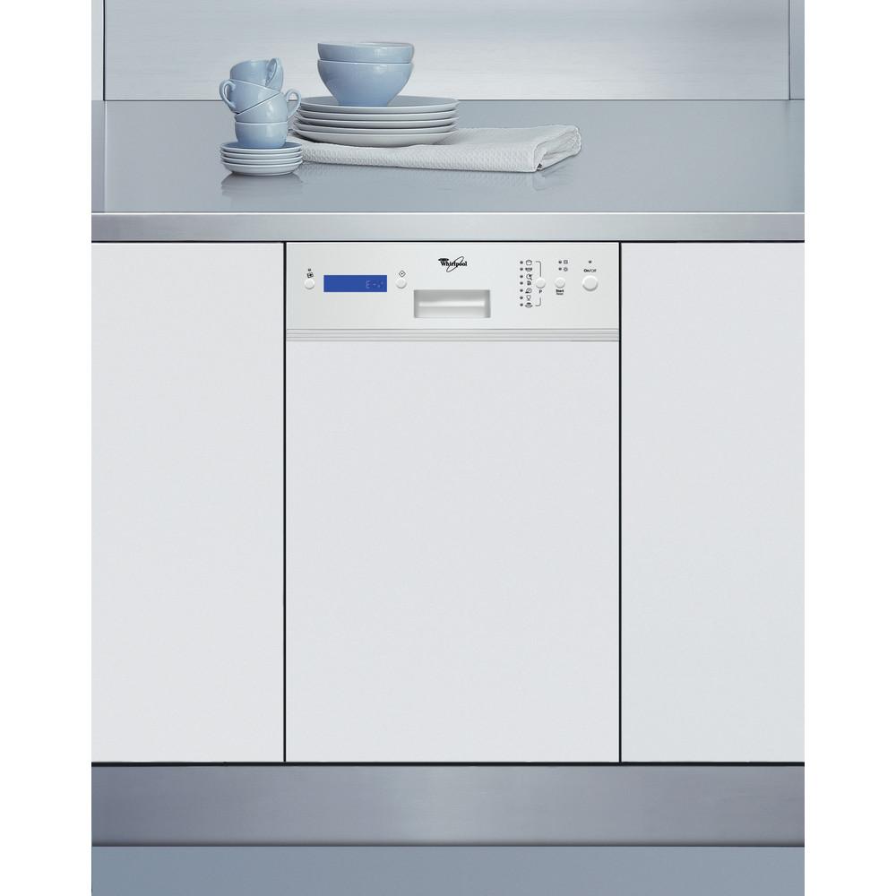 Whirlpool diskmaskin: färg vit, 45 cm - ADP F1000