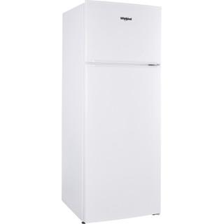 Whirlpool Kombinētais ledusskapis/saldētava Brīvi stāvošs W55TM 4110 W 1 Balta 2 doors Perspective