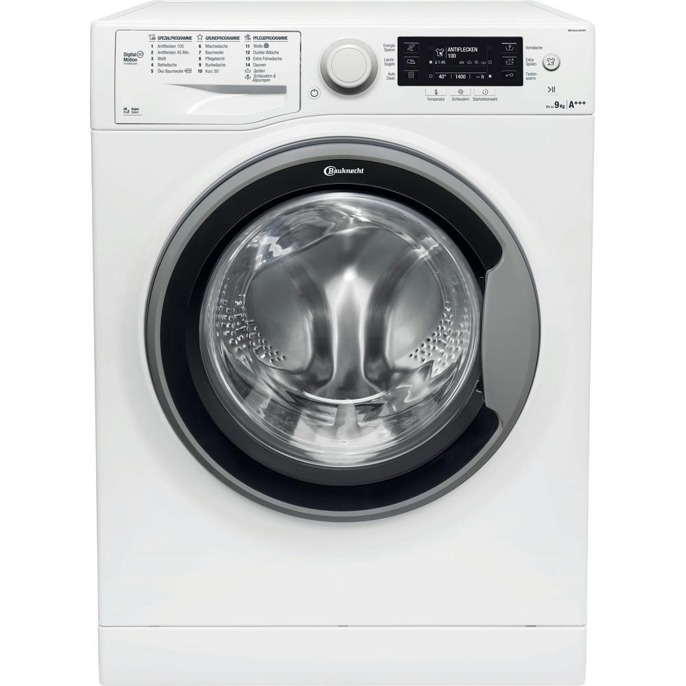 Bauknecht Waschmaschine Standgerät WM Sense 9D43PS Weiss Frontlader A+++ Frontal