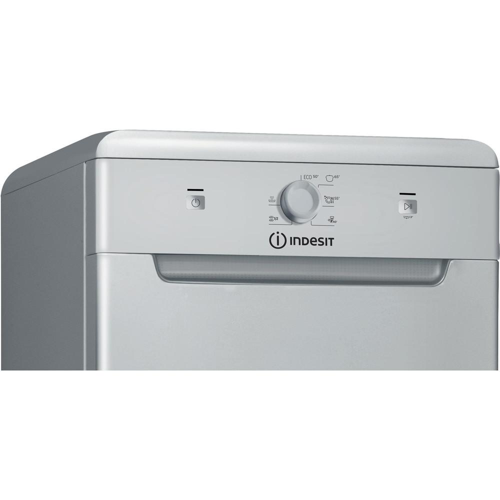 Indesit Посудомоечная машина Отдельно стоящий DSCFE 1B10 S RU Отдельно стоящий A+ Control panel