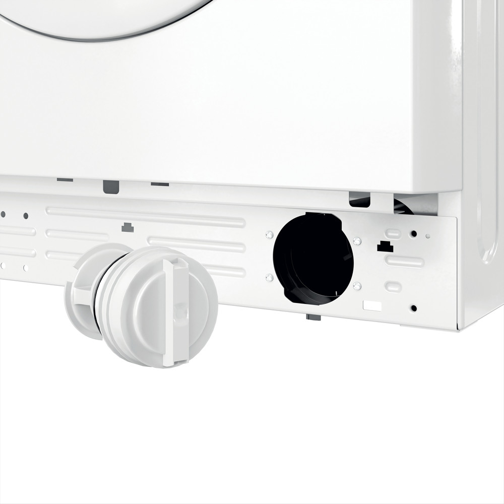Indsit Maşină de spălat rufe Independent MTWA 81283 W EE Alb Încărcare frontală A +++ Filter