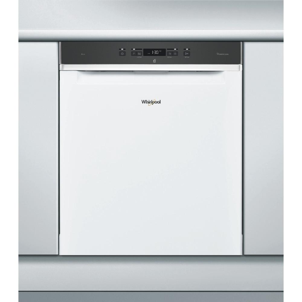Whirlpool oppvaskmaskin: farge hvit, 60 cm - WRUC 3C23 PF