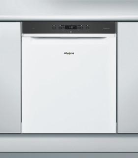 Whirlpool-opvaskemaskine: hvid farve, fuld størrelse - WRUC 3C23 PF