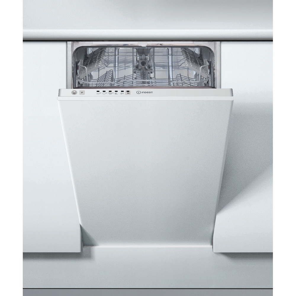 Indesit Dishwasher Built-in DSIE 2B10 UK N Full-integrated A+ Lifestyle frontal