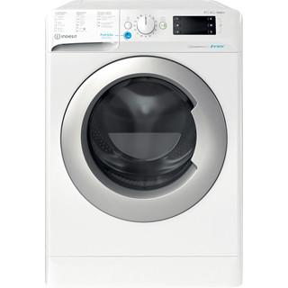 Indesit Lavadora secadora Libre instalación BDE 861483X WS SPT N Blanco Cargador frontal Frontal
