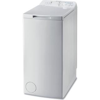 Indesit Стиральная машина Отдельно стоящий BTW A61053 (EU) Белый Top loader A+++ Perspective