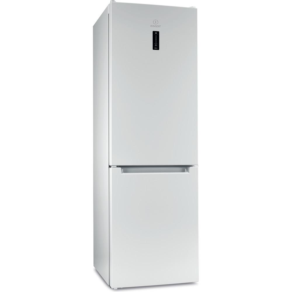 Indesit Холодильник с морозильной камерой Отдельностоящий ITF 118 W Белый 2 doors Perspective