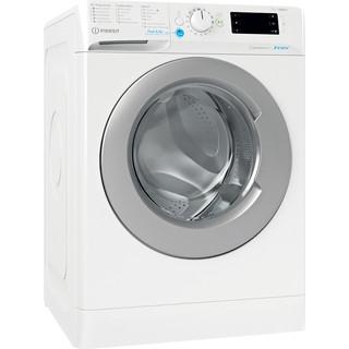 Indesit Waschmaschine Freistehend BWE 71682XE WS DE N Weiß Frontlader E Perspective