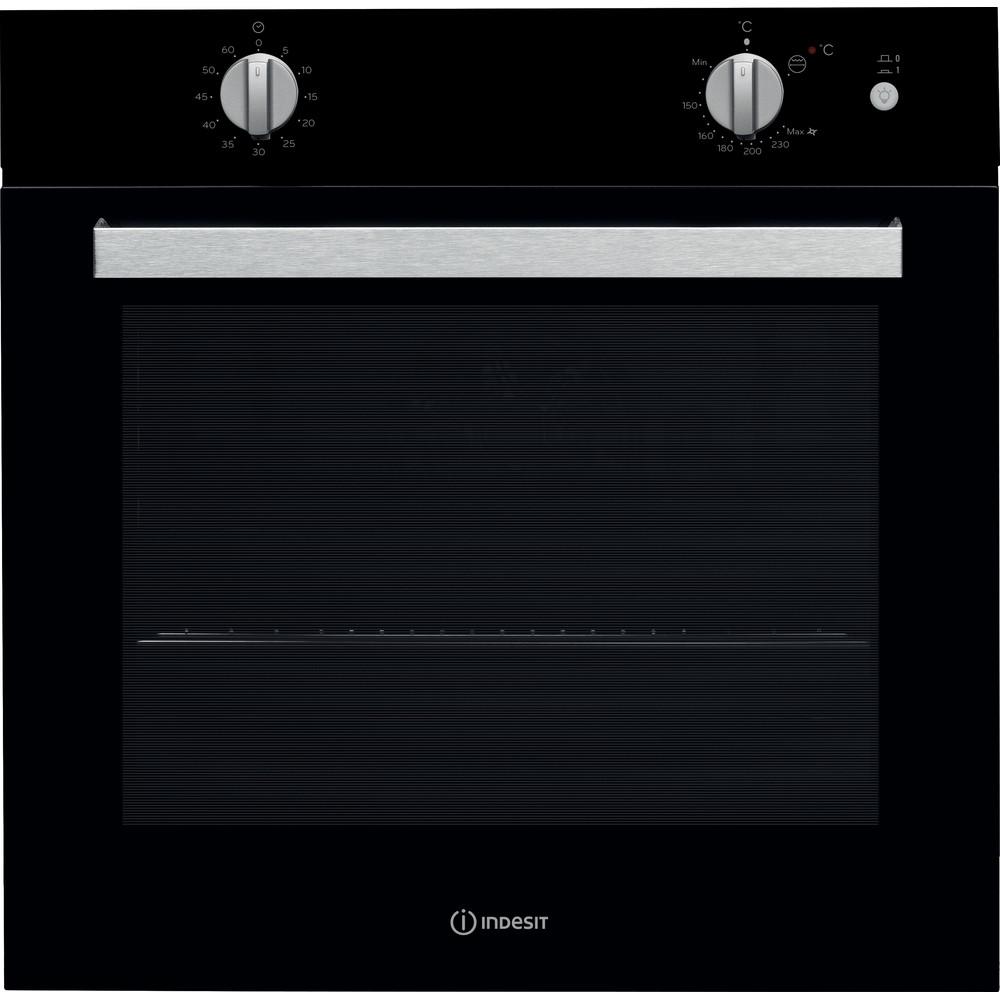 Indesit Духовой шкаф Встраиваемый IGW 620 BL Газовая A Frontal