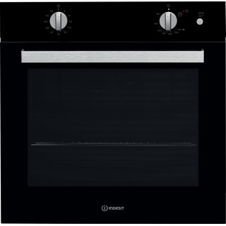 Indesit Forno Da incasso IGW 620 BL GAS A+ Frontal