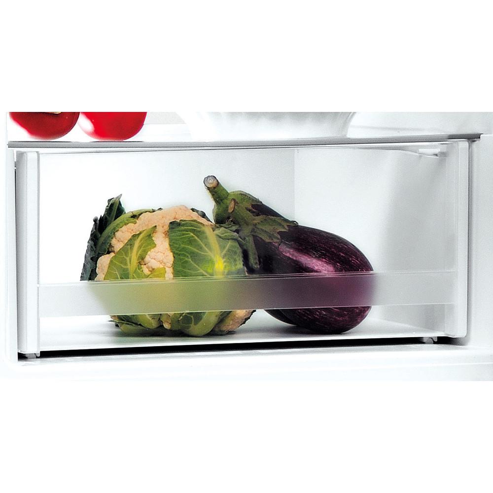 Indesit Холодильник з нижньою морозильною камерою. Соло LI7 S1 X Optic Inox 2 двері Drawer