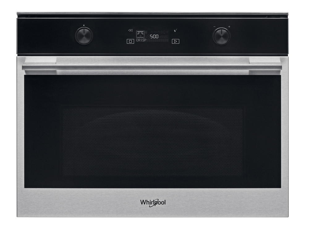 Whirlpool Microwave Built-in W7 MW541 SAF Stainless Steel Electronic 40 MW+Grill function 900 Frontal