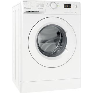Indesit Vaskemaskine Fritstående MTWA 71483 W EE Hvid Frontbetjent D Perspective