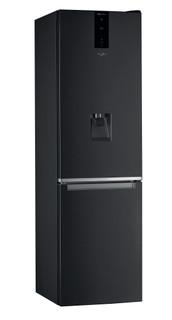 Свободностоящ комбиниран хладилник Whirlpool - W7 921O K AQUA