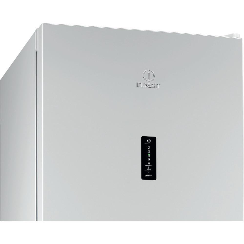 Indesit Холодильник с морозильной камерой Отдельностоящий DFN 20 D Белый 2 doors Control_Panel