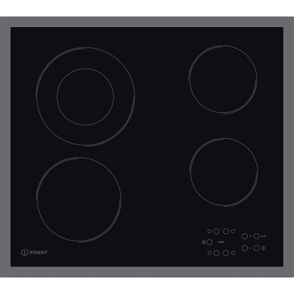 Indesit Varná deska RI 261 X Černá Radiant vitroceramic Frontal