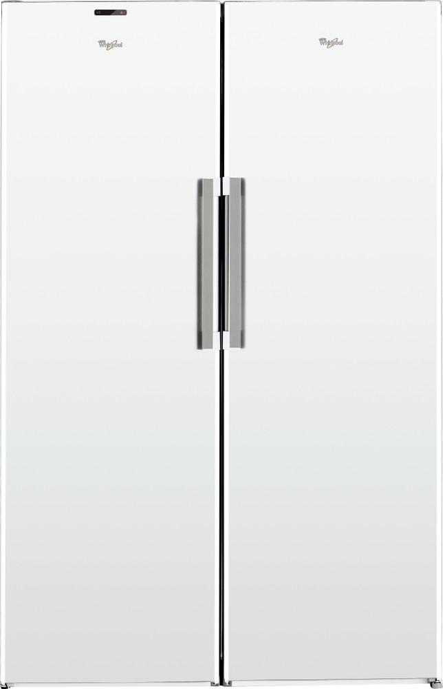 Whirlpool Jääkaappi Vapaasti sijoitettava SW8 AM2Q W 2 Valkoinen Frontal