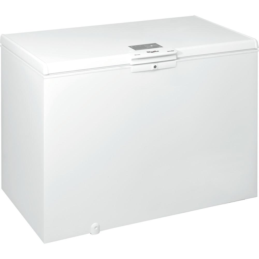 Whirlpool frysbox: färg vit - W 390 FO